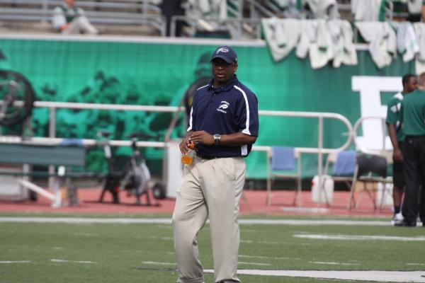 """Gary """"The Flea"""" Harrell coached Howard in his first game as a head coach."""