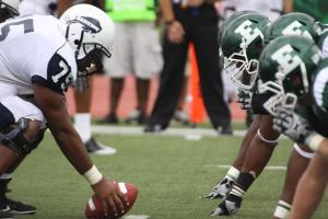 EMU faced off against Howard to start the football season
